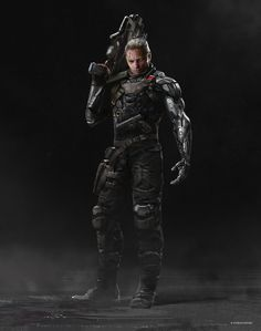 Some previously unreleased Deadpool 2 concept designs from artist Andrew Domachowski have been unearthed which spotlight alternate - and in some cases more comic-accurate - looks for several characters. Marvel Dc, Cable Marvel, Fantasy Wizard, Fantasy Warrior, Character Costumes, Comic Character, Marvel Characters, Fantasy Characters, Comic Books Art