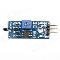 Thermal Temperature Sensor Module - Blue. Color Light Blue Brand N/A Model N/A Quantity 1 Piece Material PCB + metal English Manual / Spec No Other Features NTC thermistor sensor sensitivity; The comparator output, the signal is clean, the waveform, driving ability, more than 15mA; Adjust the temperature distribution bit detection threshold.Operating voltage 3.3V-5V; The output in the form: Digital switching outputs (0 and 1); A fixed bolt hole for easy installation; Small board PCB size…