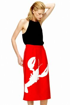 Tibi. love the skirt actually the lobster !!