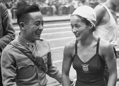 London Olympics, 1948: Her Name Meant Double Victory // Vicki Manalo Draves was the first half-Filipina-American (and the first woman) to win two diving golds.