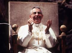 Albino Luciani, Juan Pablo I, durante una audiencia general en septiembre de 1978