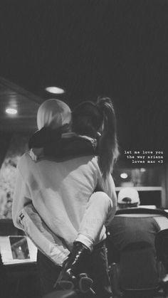 let me love you - mac miller Mac Miller And Ariana Grande, Ariana Grande Mac, Ariana Grande Fotos, Let Me Love You, My Love, Mac Miller Albums, Couple Goals Cuddling, Ariana Grande Wallpaper, Dangerous Woman