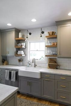 Source by nataszenka Related posts: 40 pretty farmhouse kitchen makeover design ideas on a budget 25 Best Farmhouse Kitchen Sink Design Ideas And Decor 45 suprising small kitchen design ideas and decor 5 50 Awesome Farmhouse Kitchen Decor Design-Ideen Home Kitchens, Kitchen Design Small, Kitchen Remodel Small, Kitchen Design, Diy Kitchen Remodel, Home Decor Kitchen, Kitchen Trends, Kitchen, Kitchen Redo