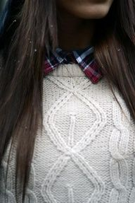 Flannel and knit.
