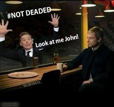 Look at my John!
