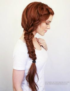 nice 20 Stilvolle Side Braid Frisuren für langes Haar