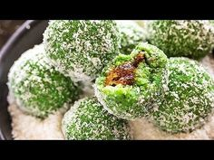 Filled with gulkand in the center, these instant Paan Coconut Ladoo are an easy sweet to make this Diwali. Done in 15 minutes! Coconut Ladoo Recipe, Modak Recipe, Chaat Recipe, Veg Recipes, Sweets Recipes, Fun Desserts, Mango Dessert Recipes, Indian Dessert Recipes, Coconut Recipes Indian