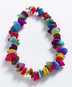 Silk Cocoon Necklace, Necklaces, Jewelry - The Museum Shop of The Art Institute of Chicago