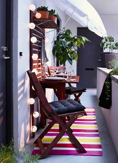 Idee per arredare piccoli balconi n.19