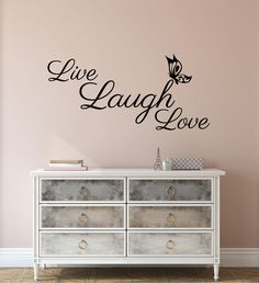 Wall Decal Quote   Live Laugh Love Sticker | Wall Sticker Quote | Wall  Words Saying