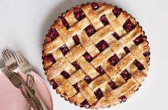Sour-Cherry Almond Pie Recipe