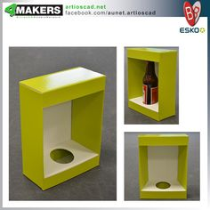 Furniture Box Packaging, Packaging Design, Bottle Display, Counter Display, Display Stands, Bottle Holders, Box Design, Packing, Japan