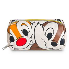 Chip 'n' Dale Face and Tail Cosmetic Bag