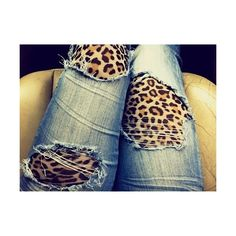ripped jeans | Tumblr ❤ liked on Polyvore
