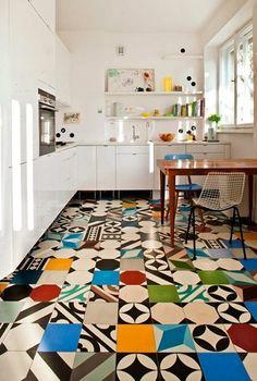 Inspirálóan színes otthonok