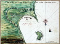 Chart of Table Bay, Located by the Cape of Good Hope c1665 | Flickr - Photo Sharing!