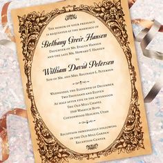 45 Inspiring  Elegant Wedding Invitations