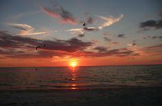 Sunset at Bonita Springs Beach FLORIDA