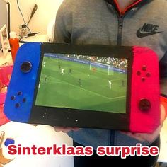Sinterklaas surprise crafting: lots of great ideas - Fun with kids Cool Valentine Boxes, Valentines For Boys, Nintendo Switch, Candy House, Pokemon, School Fun, Kids, Crafts, Saint Nicolas