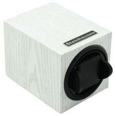 Steinhausen TM1031MWL Backstein 12-Mode Single White Wood Grain Watch Winder