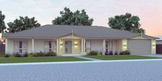 4 Bed Home Acreage Home Plan:409.6 Texas House Plans, Cottage Style House Plans, 4 Bedroom House Plans, Dream House Plans, Modern House Plans, Kit Homes Australia, House Plans Australia, Duplex Floor Plans, House Floor Plans
