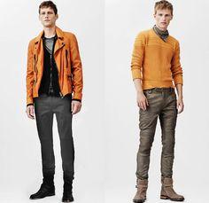 Belstaff 2014 Spring Summer Mens Collection: Designer Denim Jeans Fashion: Season Collections, Runways, Lookbooks and Linesheets