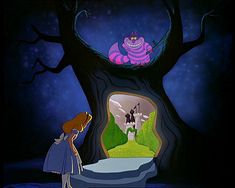 Screencap Gallery for Alice in Wonderland Bluray, Disney Classics). Disney version of Lewis Carroll's children's story. Alice becomes bored and her mind starts to wander. Art Disney, Disney Kunst, Disney Love, Disney Magic, Disney Pixar, Disney Characters, Alice Disney, Childhood Characters, Disney Bound
