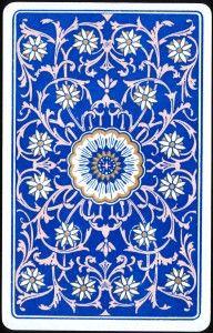 Design - Paper - Royal blue and flower