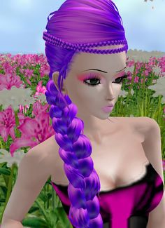 Photo by iMMuneC @ IMVU featuring New Exclusive Hair Product