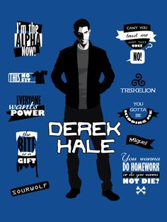 Derek Hale Quotes Teen Wolf Art Print by alicewieckowska Teen Wolf Derek, Teen Wolf Boys, Teen Wolf Dylan, Teen Wolf Stiles, Teen Wolf Quotes, Teen Wolf Funny, Derek Hale, Tyler Hoechlin, Wolf Background
