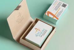 Diseño de tarjetas de visita Alfred Fernandez Centro de Quiromasaje y Fisioterapias BCN | Dolphin Tecnologías