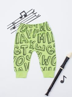 Easy Breezy Graphic Letter Pant