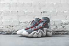 sports shoes 1d769 27bb9 adidas Consortium Crazy 8 ADV - Grey  Red  Sesame – Kith Sneakers Nike,