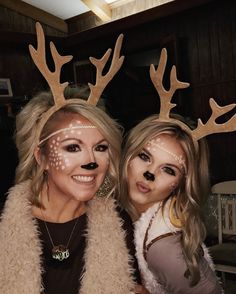 Deer Halloween Kostüm Deer Halloween Kostüm - New Ideas Deer Halloween costume Halloween Costumes For Bffs, Couples Halloween, Cool Halloween Costumes, Diy Costumes, Halloween Kids, Couple Costumes, Christmas Costumes, Deer Halloween Makeup, Teen Costumes