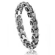 Bracelet Police Dragon acier - Police Dragon Bracelet, Trendy Bracelets, Style Grunge, Dream Ring, Jewelery, Rings For Men, Wedding Rings, Stainless Steel, Engagement Rings