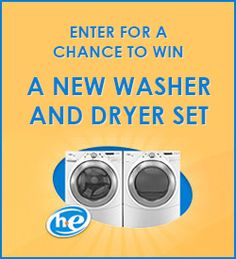Win a Washer and Dryer with Clorox