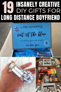 seriously love these diy gifts for long distance boyfriends. so creative and cute! Dorm Room Setup, Dorm Room Layouts, Dorm Room Organization, College Freshman Tips, Inspiration Room, Dorm Hacks, Long Distance Boyfriend, Dorm Essentials, Diy Gifts