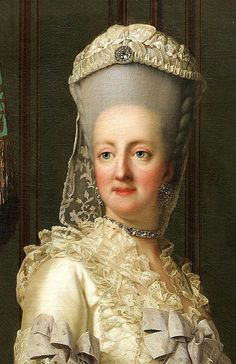 Queen of Denmark Juliane Marie by Vigilius Eriksen  - click on image to enlarge