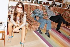 Inspired by any & all Missoni family members.