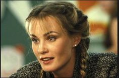 Jessica Lange looks like Demi Moore in The Butcher's Wife
