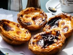 The best way to enjoy Easter ? Travel and taste some delish portuguese sweets - Pastel de Nata in Lisbon ! #travel #sweet #pasteldenata #delish #Portugal #dessert #nata #pastel #Lisbon #portuguese #gastronomy #holidays
