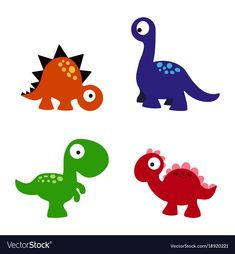 set of a colorful dinosaurs, funny cartoon dinosaurs collection , Animal Fact File, Animal Facts For Kids, Fun Facts About Animals, Cartoon Dinosaur, Cute Dinosaur, Free Cartoons, Funny Cartoons, Web Banner, Banners