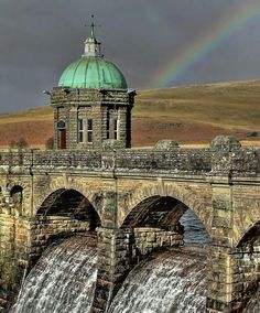 Elan Valley Dam, Mid-Wales