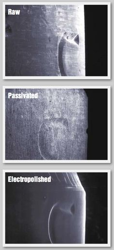 Due to versatility and superior effectiveness, #electropolishing is fast becoming a replacement process for #passivation.