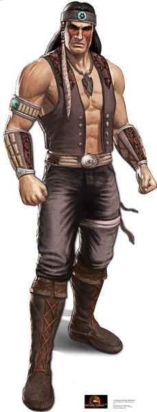 Nightwolf - Mortal Kombat Lifesize Standup