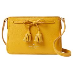 KATE SPADE Hayes Street Eniko Leather Across Body Bag - Go hands free chic with this crossbody stunner