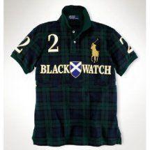 01f9b10a2e52 camicia polo ralph lauren uomo nero black watch:Ralph Lauren plaid shirt  bavero. L'uso occasionale di elementi reticolari, Ralph Lauren per  aggiungere più ...