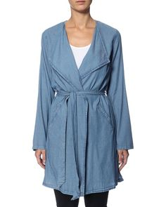 RUE de FEMME kimono demin wrap. Item number: 270268_422