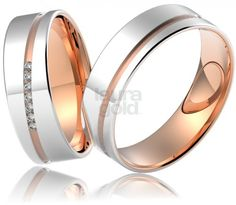 svadobné obrúčky - 670 Laura Gold, Bangles, Bracelets, Wedding Rings, Engagement Rings, Model, Jewelry, Elegant, Enagement Rings