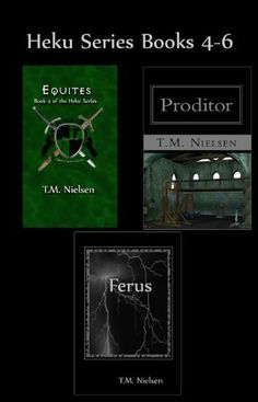 Heku Series Books 4 - 6 by T.M. Nielsen, http://www.amazon.com/dp/B007BTVU98/ref=cm_sw_r_pi_dp_3OV5qb1BBVMZ9